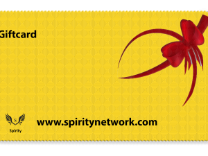 Giftcard Spirity